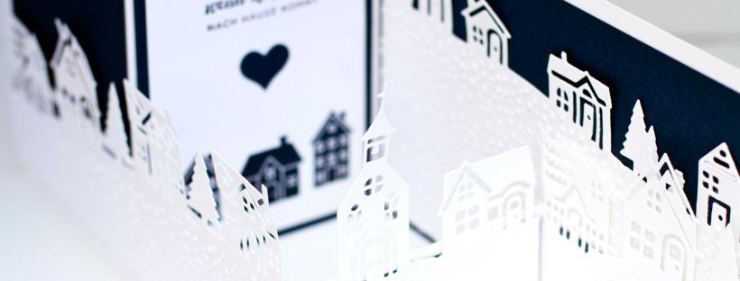 Z Folder Karte mit Produktpaket Weihnachten daheim