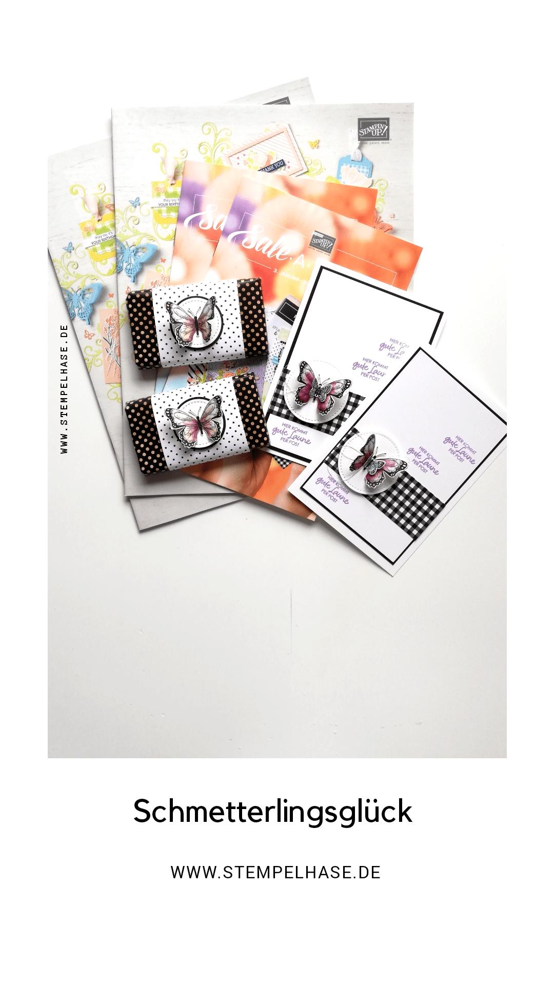 #stempelhase.de #Schmetterlingsglück #stampinup #Karte #Schmetterlingsduo ***WERBUNG*** Mit den Stempelset #Schmetterlingsglück und dem Designerpapier Schmetterlingsvielfalt ist ein kleine Karte entstanden, wenn Du wissen möchtest, wie Du sie basteln mußt, besuche meinen Blog: www.stempelhase.de, dort findest du auch den Link zum Video. Gerne kannst du die Produkte über mich bestellen. #Stampin' Up #stampinupdemonstrator #stempelhase #selbstgemacht #basteln #schmetterlingsvielfalt #stampinupdeutschland #selbstgemacht #Stempel